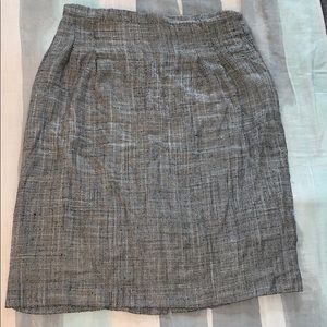 Dresses & Skirts - Vintage grey herringbone pencil skirt